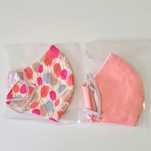 Handmade cloth facemask set
